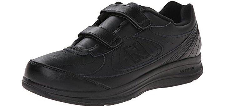 New Balance Men's MW577 Leather Hook:Loop Walking Shoe