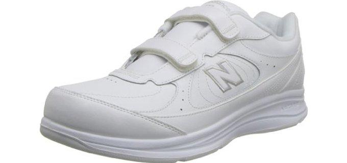 Zapatos Para Caminar De Los Nuevos Hombres De Balance De Blancos W63Yug