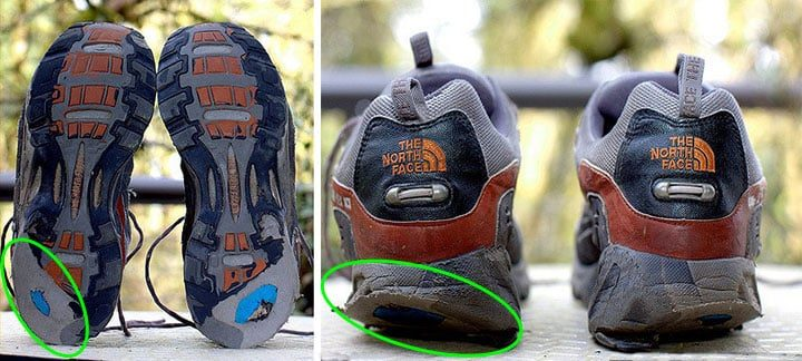 Worn Shoes Underpronation