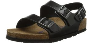 Birkenstock Men's Milano - Slingback Best Underpronation Supination Sandal