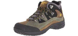 New Balance Men's Dunham Cloud - Mid-Cut Waterproof Flat Feet Hiking Boot