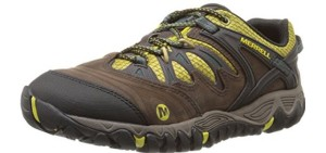 Merrell Men's All Out Blaze - Waterproof Low Cut Trail Hiking Shoes