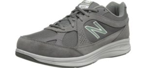 New Balance Men's MW877 - Wide Athletic Walking Shoes for Knee Pain
