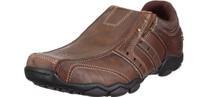 Skechers Men's Diameter - Casual Slip On Walking Shoes