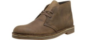 Clarks Men's Desert - Long Distance Walking Chukka Boots