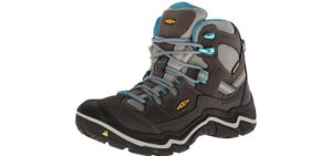Keen Women's Durand - Waterproof - Long Distance Durable Hiking Boots