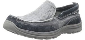 Skechers Men's Melvin Loafer - Light Breathable Summer Shoes