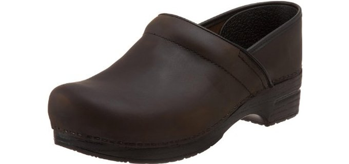 Dansko Men's Wide Professional - Best Work Shoes for Overweight Men