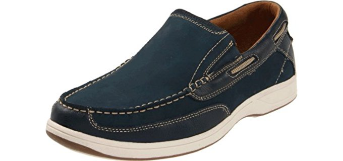 Florsheim Men's Lakeside - Slip-On Boat Shoe