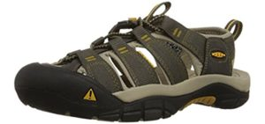 Keen Men's Newport H2 - Outdoor Sandals for Hallux Limitus