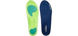 VIVEsole Men's Orthotics - Arch Support Plantar Fasciitis Insoles