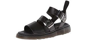 Dr. Martens Men's Gryphon Gladiator - Best Long Distance Walking Sandal
