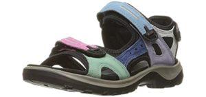 ECCO Women's Yucatan - Plantar Fasciitis Comfort Sandal