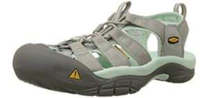 Keen Women's Newport H2 - Outdoor Sandals for Hallux Limitus