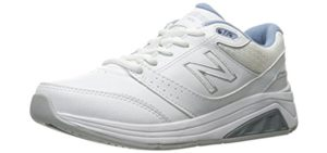 New Balance Women's WW928v3 - Wide Walking Shoe for Hallux Rigidus