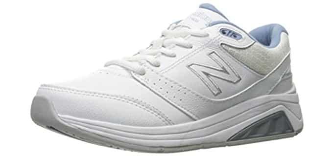New Balance Women's WW928v3 - Health Walking Laced Shoe for Heavy Women