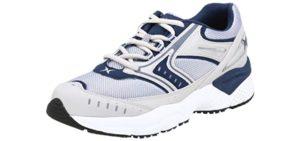 Aetrex Men's Rhino Runner - Best Walking Shoes for Metatarsalgia