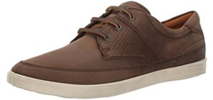 ECCO Men's Nautical - Fashionable Comfortable Long Distance Sneakers