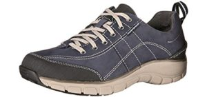 Clarks Women's Wave Trek - Wave Technology Casual Shoes for Hallux Rigidus
