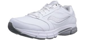 Saucony Men's Echelon LE2 - Walking Shoes for Underpronation
