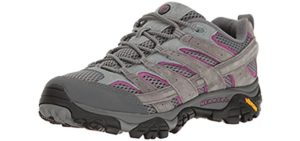 Merrell Women's Moab 2 - Comfortable Shoes for Trail Walking and Hiking