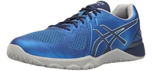 Asics Men's Conviction X - Asics Cross Training Shoes for CrossFit