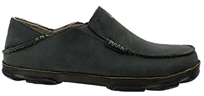 OluKai Men's Moloa - Lightweight Slip On Shoe for Walking