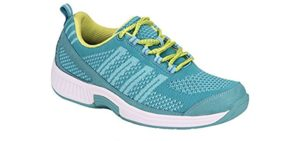 Orthofeet Women's Coral - Therapeutic Extra Depth Athletic Shoes for Diabetics