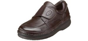Propet Men's Scandia - Velcro Dress Shoes for Edema