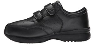 Propet Men's Life Walker - Walking Sneaker with Velcro Straps