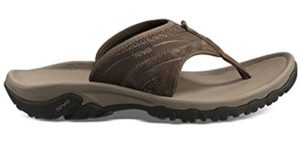 Teva Men's Pajaro - Flip Flops for Flat Feet