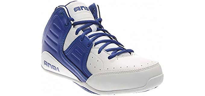 AND1 Men's Rocket 4 - Mid Basketball Shoes