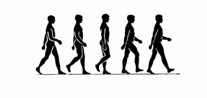 walking men illustration