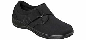 Orthofeet Women's Wichita - Velcro Dress Shoes for Arthritis