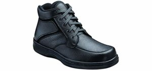 Orthofeet Men's Highline - Dress Boots for Plantar Fasciitis
