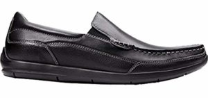 Vionic Men's Preston - Heel Spur and Plantar Fasciitis Loafers