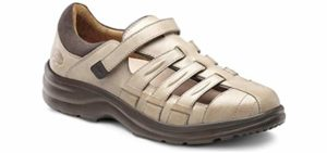 Dr. Comfort Women's Breeze - Extra Depth Orthopedic Sandal