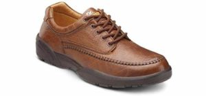 Dr. Comfort Men's Stallion - Extra Depth Wide Width Shoe