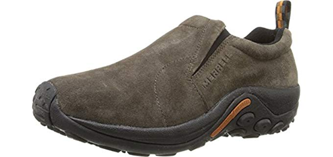 Merrell Men's Jungle Moc - Leather Slip-On Shoe
