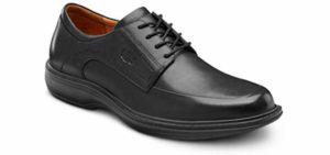 Dr. Comfort Men's Classic - Dress Shoes for Capsulitis Relief