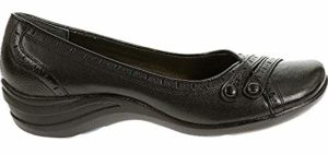 Hush Puppies Women's Burlesque - Slip on Dress Shoes for High Arches
