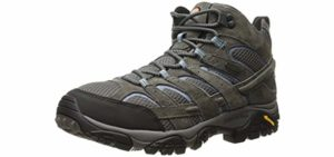 Merrell Women's Moab Mid 2 - Breathable Waterproof Hiking Boots