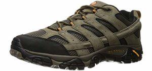 Merrell Men's Moab Ventilator 2 - Ventilated Hiking Shoe for Flat Feet
