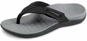 Vionic Men's Ryder - Comfortable High Arch Flip Flop Sandals