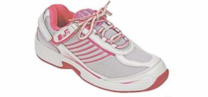 Orthofeet Women's Verve - Orthotic Cushioned Walking Shoe