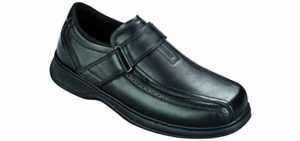 Orthofeet Men's Lincoln Center - Extensor Tendinitis Dress Shoe