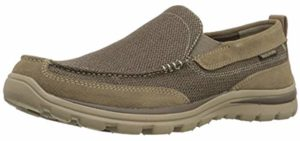 Skechers Men's Milford - Loafers for Bunios and Flat Feet