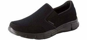 Skechers Men's Equalizer - Slip On Sneaker for Tailors Bunions