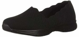 Skechers Women's Seager - Slip On Sneaker for Tailors Bunions