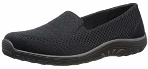 Skechers Women's Reggae Fest - Flyknit Materail Summer Shoes
